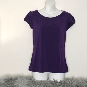 Worthington Purple Top Sz. Small